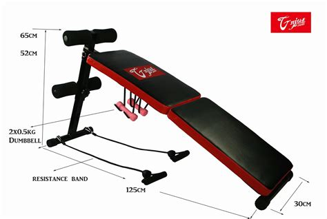 fold up sit up bench new adjustable folding sit up ab abdominal bench crunch