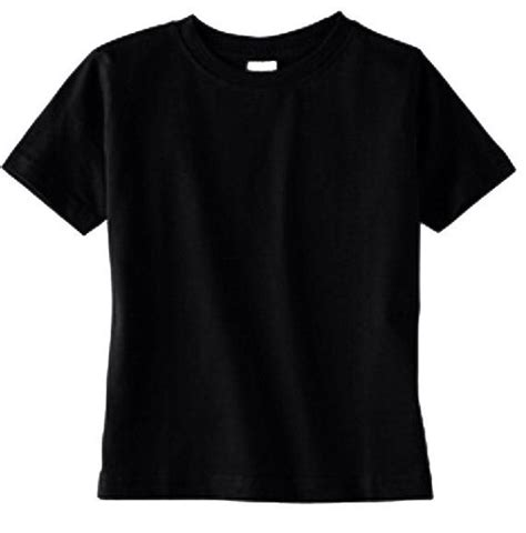 Tees Black Karambol D C plain black boutique quality shirt boys toddler