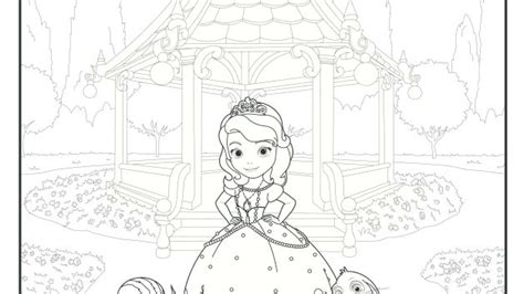 princess ivy coloring pages 1000 images about sofia the first on pinterest