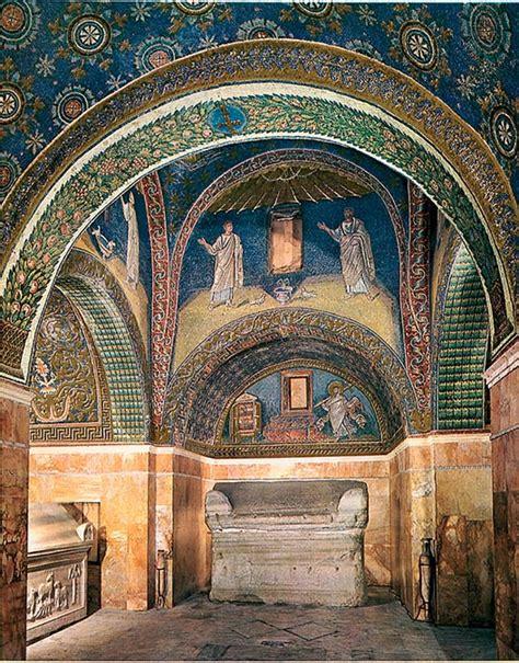 mausoleo di galla placidia interno vision arte paleocristiana bizantina
