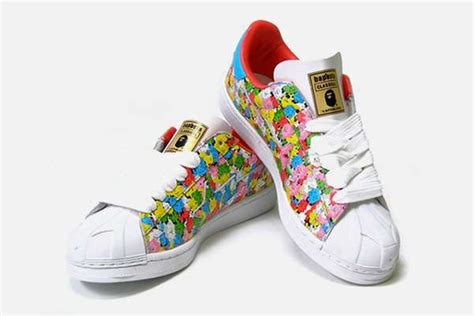 A Bathing Ape 28 colorful skull kicks the devilock and a bathing ape skullsta sneakers are awesome to the max