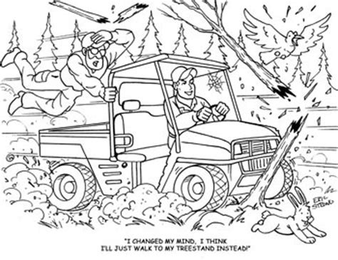 coloring pages hunter ed adventures