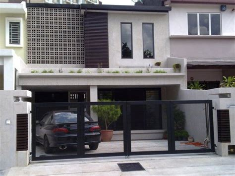 malaysia terrace house design search fachadas