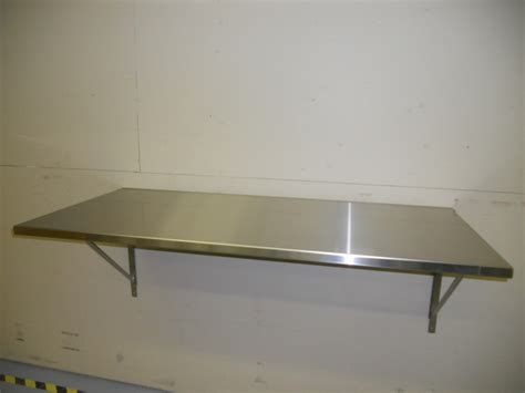 Wall Mounted Folding Table Stainless Steel Wall Mounted Folding Table Tables Work Stations Cleanroom Laboratory