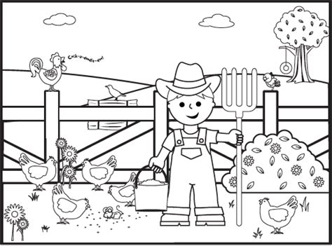 christmas tree farm coloring page astounding farm coloring pages farm coloring pages image 7