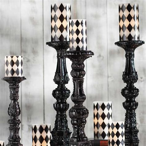 Harlequin Decor by Battery Operated Harlequin Candles Battery Operated