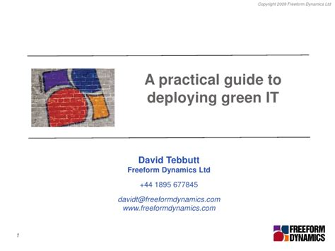 using data to improve learning a practical guide for busy teachers books a practical guide to deploying green it for icaew