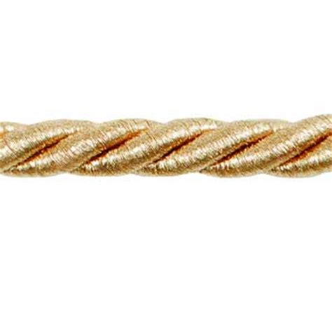 Cord Trim For Upholstery by 3 8 Quot Cord Trim Metallic Gold Discount