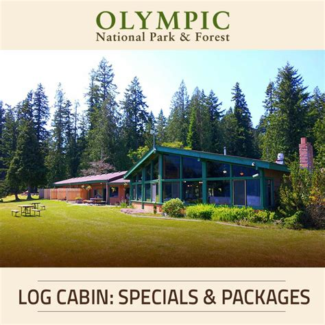 Log Cabin Vacation Packages by Accommodations At Log Cabin Resort Olympic National Park