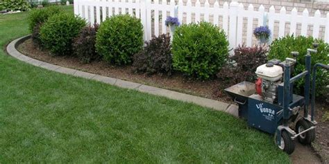 landscape curbing machine lil bubba curb machines business opportunity
