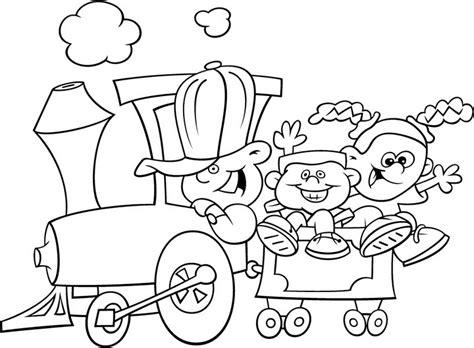 imagenes infantiles para colorear de trenes tren infantil dibujalia dibujos para colorear