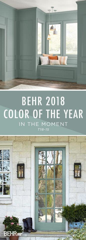 behr paint color of the year introducing the behr 2018 color of the year in the moment