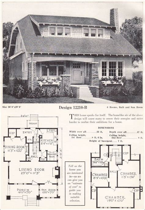 1920s craftsman home design image from http antiquehomestyle com img 23clb 12210 jpg