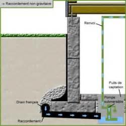 drain fran 231 ais et fondation pave imh installation de