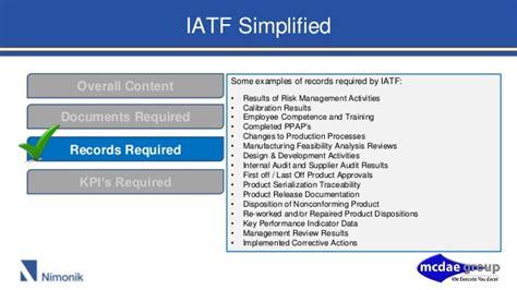 Iatf 16949 2016 Iatf 16949 Quality Manual Template