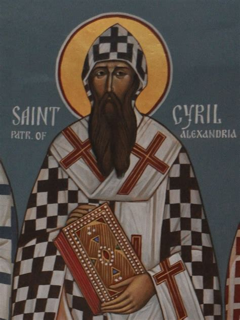 Marvelous Church At Ephesus #8: Icon_St._Cyril_of_Alexandria.jpg