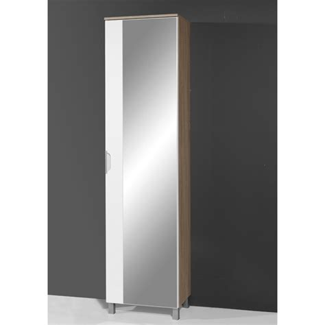 tall mirrored bathroom cabinet santos mirrored bathroom cabinet in canadian oak 8005 156