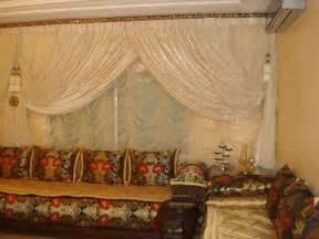 modele de rideaux pour salon marocain