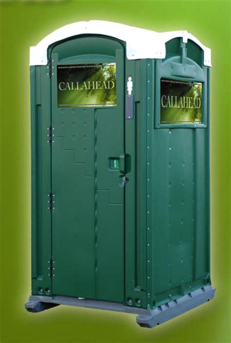 green head portable toilet porta potty  callahead