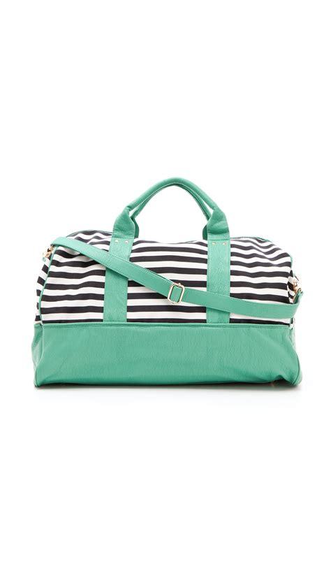 Rayleigh Bags deux raleigh weekender bag in green lyst