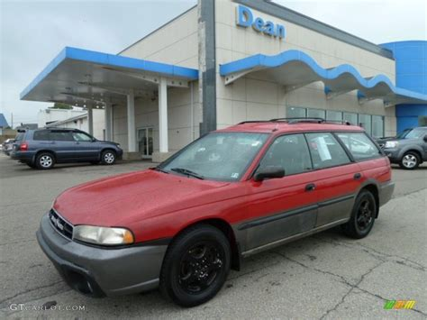 red subaru outback 1999 rio red subaru legacy outback wagon 53982723