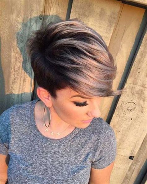Nice Style Haircut And Color | 20 nice hair color for short hair short hairstyles 2017