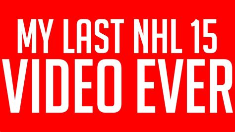 reset online stats nhl 15 my nhl 15 be a pro stats youtube