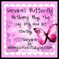happy birthday sandra in advance confessions of a lauren s creative sandra s butterfly birthday blog hop