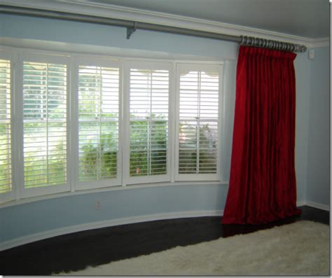 curtain ideas for bay windows window treatment ideas for bay windows simplified bee
