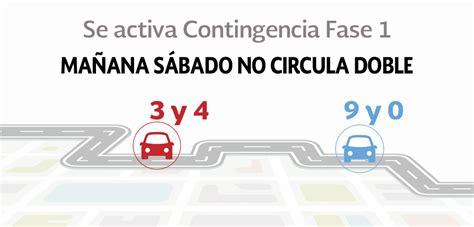 calendario doble no circula por contingencia newhairstylesformen2014 hoy no circula calendario con contingencia ambiental