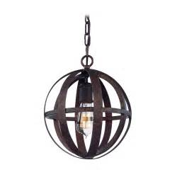 Iron Pendant Lights Small Orb Pendant Light In Weathered Iron Finish F2511wi Destination Lighting