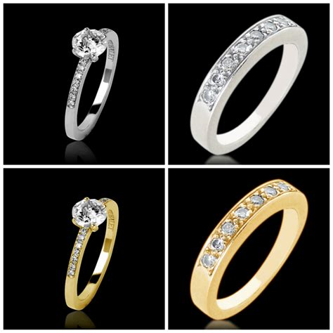 how to match engagement rings with wedding bands