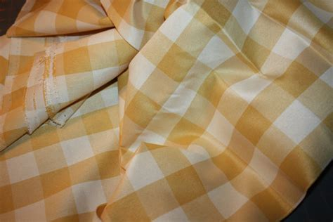 buffalo check upholstery fabric gold buffalo check drapery fabric for pillows 2 yards