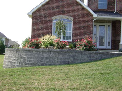 Landscaping Landscaping Ideas Front Yard Retaining Walls Front Garden Retaining Walls