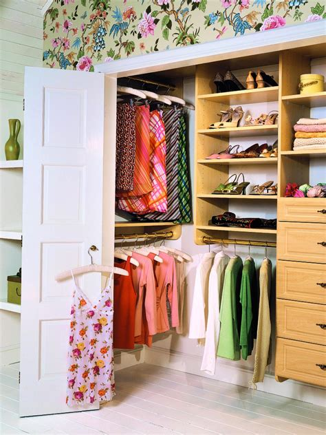 In A Closet by Small Closet Organization Ideas Pictures Options Tips Hgtv