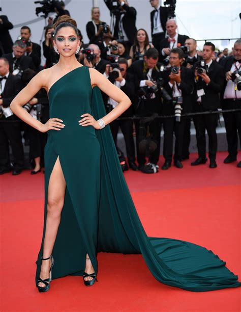 Cannes Festival by Deepika Padukone At Loveless Premiere At 2017 Cannes