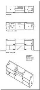 Azuma House Plan Azuma House Tadao Ando 住吉の長屋 Ue 11 Initiation Au Projet Archi
