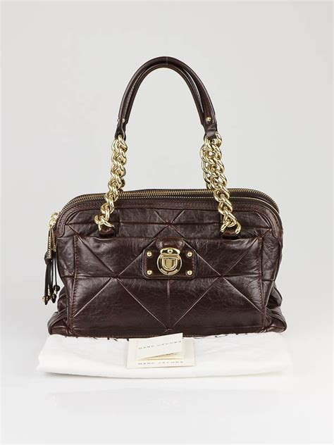 Marc Ines Leather Patchwork Bag by Marc Brown Patchwork Leather Ines Bag Yoogi S Closet