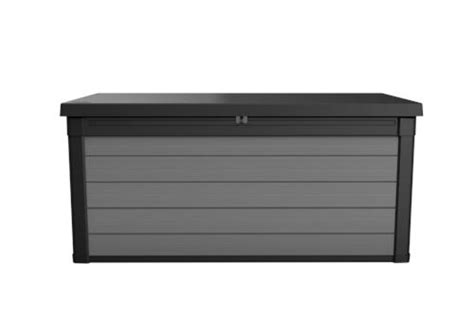 Keter 150 Gallon Patio Storage Bench Deck Box - keter 174 150 gallon deck box at menards 174