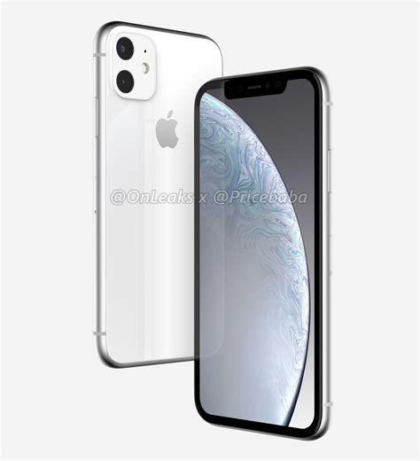 ภาพเรนเดอร iphone xr 2019 จากข าวล อ กล องหล ง 2 ต วในกรอบเหล ยม