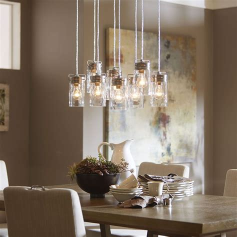 brushed nickel dining room light fixtures top 25 best dining room lighting ideas on