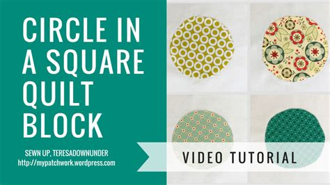 Circle Quilt Block Tutorial by Tutorial Circle In A Square Quilt Block Sewn Up