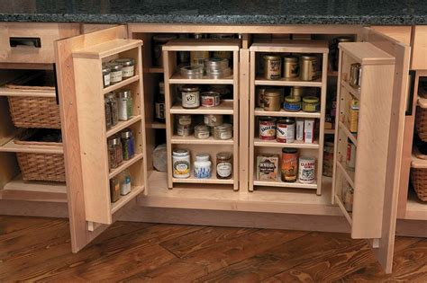 blind corner cabinet solutions diy   Stylish Storage