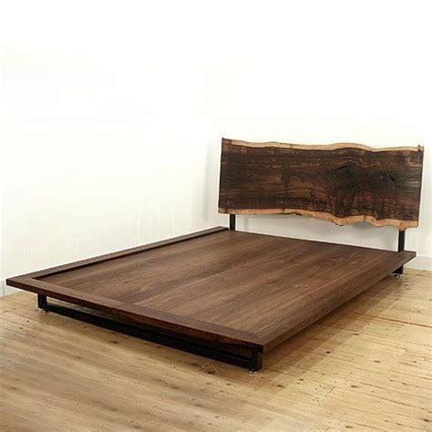 slab wood headboard headboards raw beauty and slab of wood on pinterest