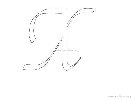 printable letter stencils walls cursive wall letter stencils stencil letters org