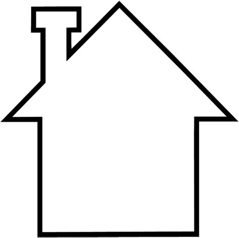 easy house drawing signspecialist beevault decals simple drawing of a house vinyl sticker customize on