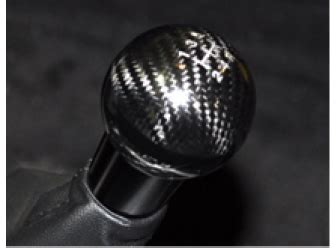 shift knob black carbon fiber 5 speed the official