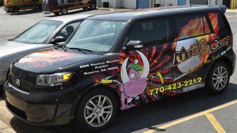 scion xb mini golf wrap car skins gallery
