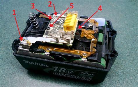 resetting makita battery makita bl 1830 battery repair fusible link repair
