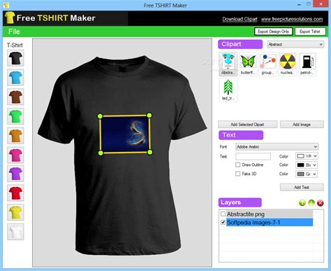 Top 10 Free T Shirt Design Softwares Online T Shirt Template Maker